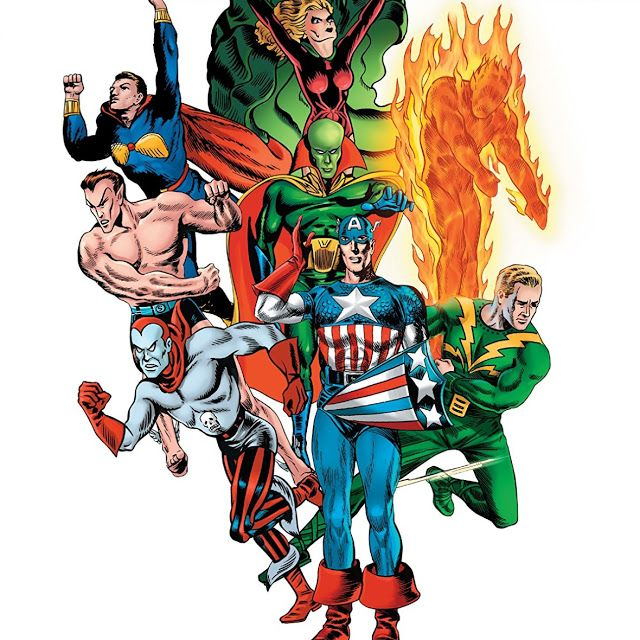 Guia: Os Super-Heróis Mais Antigos das Histórias em Banda Desenhada (Anos 30)... ver mais em www.bdcomics.pt #bdcomicspt