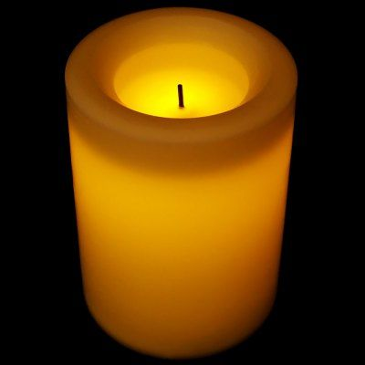 MY-21 LED Battery Operated Flickering Flameless Candle Light for Wedding Birthday Party