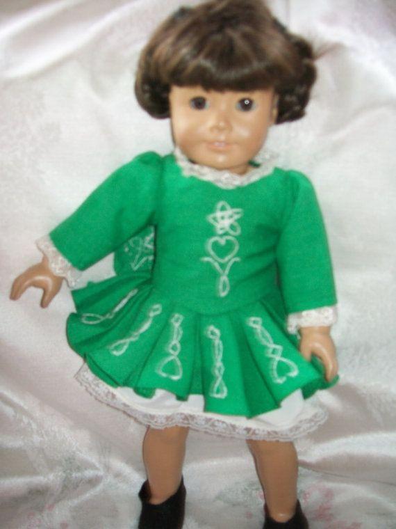 Irische Folk-Tänzerin Kostüm für Ihre American von Threadsmith1