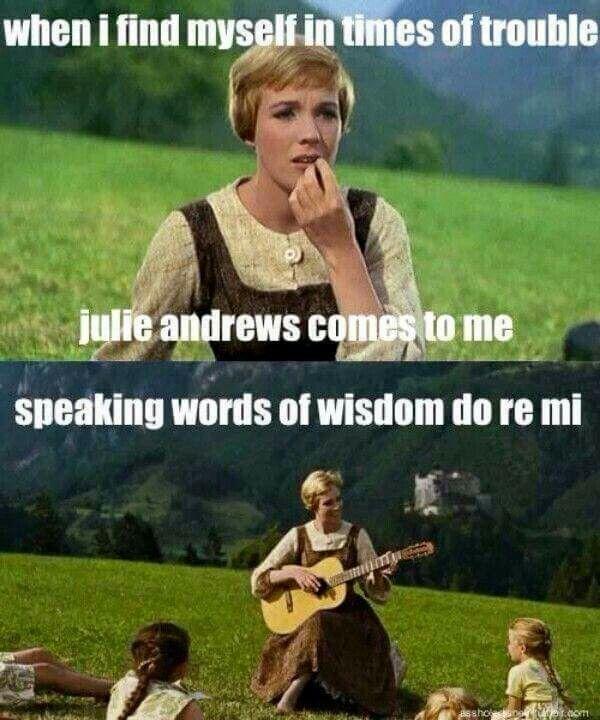 julie andrews do re mi chords relationship