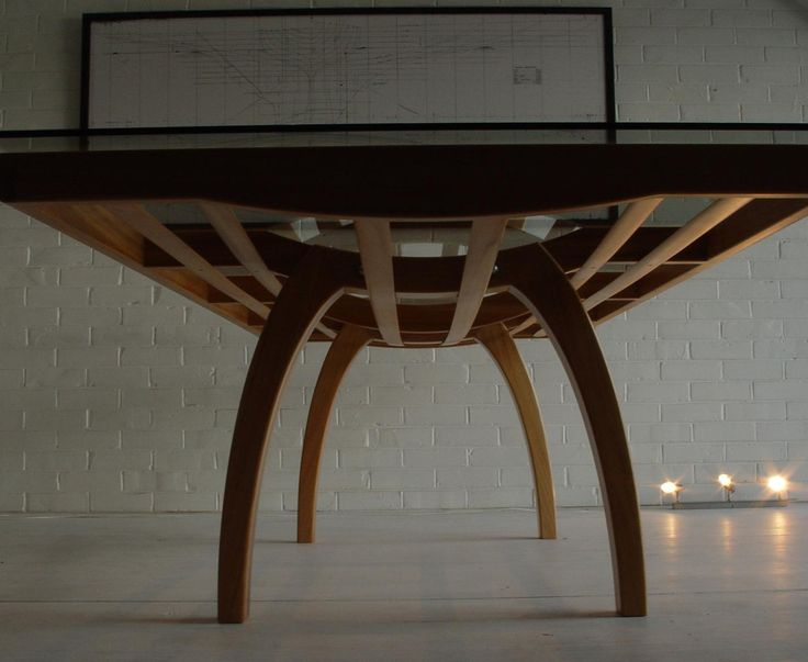 Bailey table from below