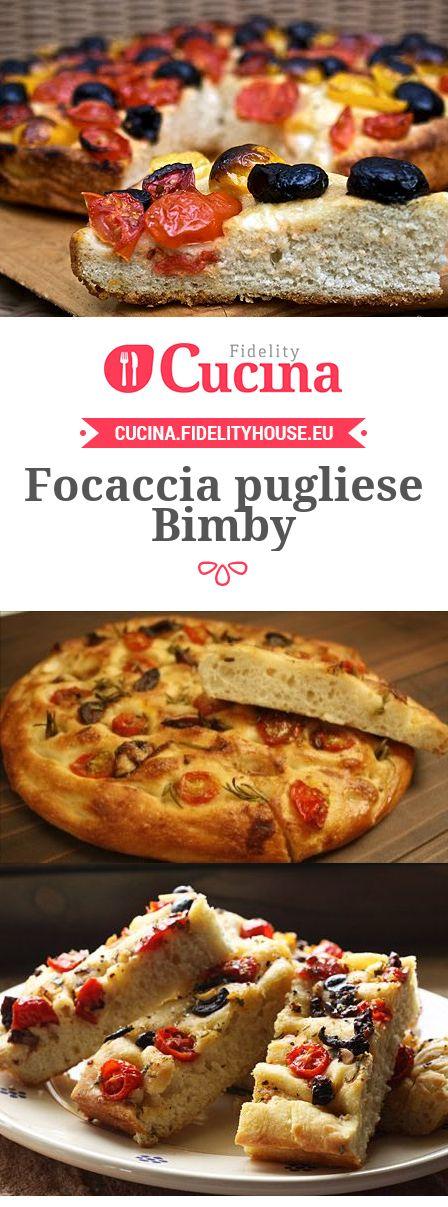 La #focaccia pugliese #Bimby è un piatto semplice ma che racchiude tutti i sapori e gli odori mediterranei.