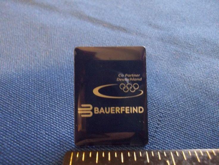 2006 Turin Olympic Sponsor Pin Bauerfeind German Health Care Equipment