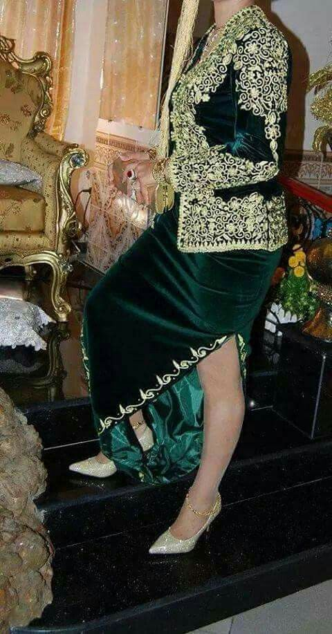 algerian bride dress
