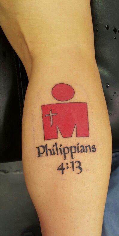 Ironman Tattoo Philippians 4:13