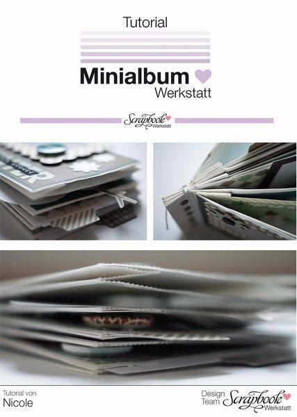 Inspirationsgalerie Minialbum Werkstatt Tutorial von Nicole