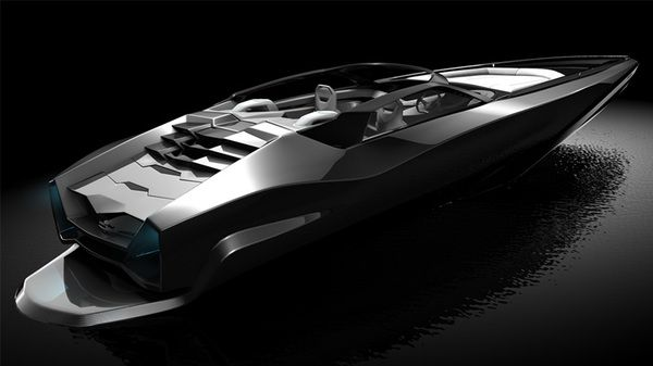 Fusion Powerboat by Serdar Sisman, via Behance
