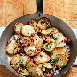 Andouille Cajun Potatoes #food #recipe
