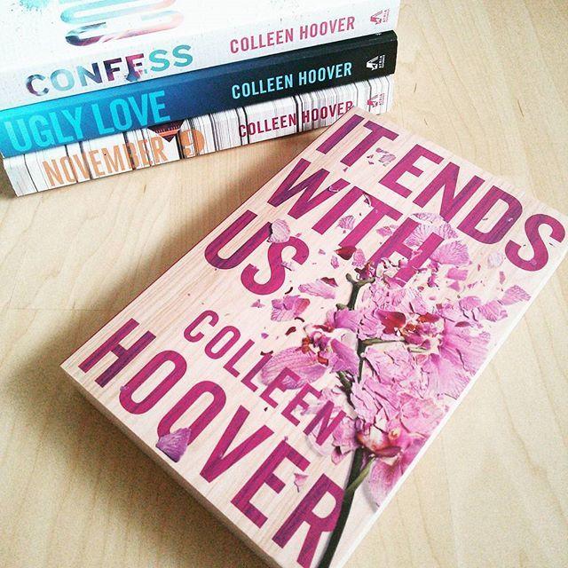 Hello, neues Hoover-Buch! Dann schauen wir mal, ob ich dich hassen oder lieben werde. . . #bookstagram #newin #neuimbücherregal #booklove #igreads #instabooks #instareading #colleenhoover #itendswithus #novembernine #uglylove #confess