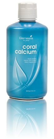 Coral Calcium: Genesis PURE™ - Absorbed 90% more effectively than any other calcium supplement.  Women, what has your OB/GYN been telling you that you need to do ...?