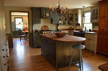Boston Saltbox Kitchen