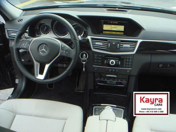 Mercedes Benz E 250 2012 Siyah