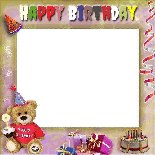 Create Your Birthday Photo Frame With Cute Teddy and Gifts Online.Sweet Teddy Wishes Happy Birthday Photo Frame Pics With Custom Photo.Best Wishes Photo Frame Generate With Your Photo.Online Photo Frame Maker For Bday Wishes.Online Photo Frame Customize With Name.Write Your Custom Name or Any Text on Happy Birthday Wishes Creative Designer Photo Frame and Share on Whatsapp and Facebook.Best DP Generator For Birthday Wishes With Your Photo and Name.