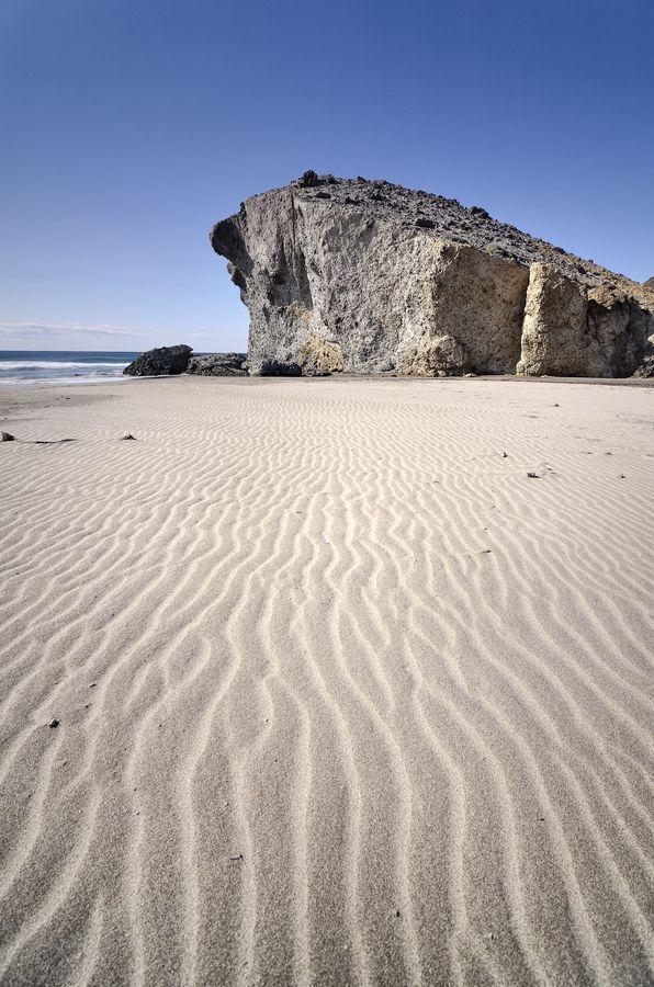 cove in Cabo de Gata