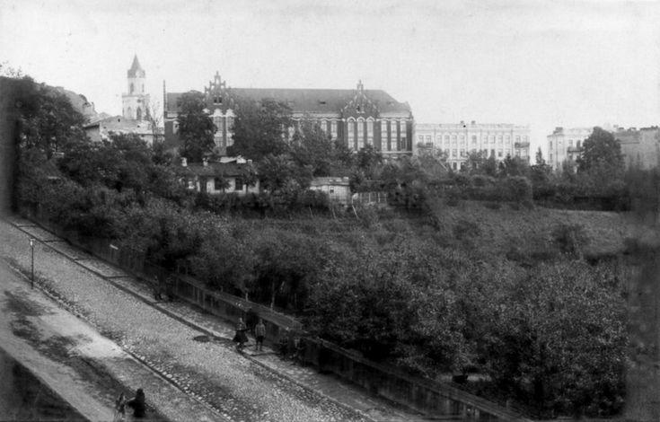 1917 r. Ul. dolnej Panny Marii źródło; Krzysztof Mucha