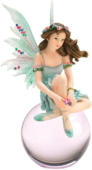 Dewdance Bubble Fairy  of Faerie Glen-Fairy Figurine