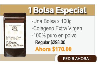 Compra 1 bolsa de colágeno extra virgen