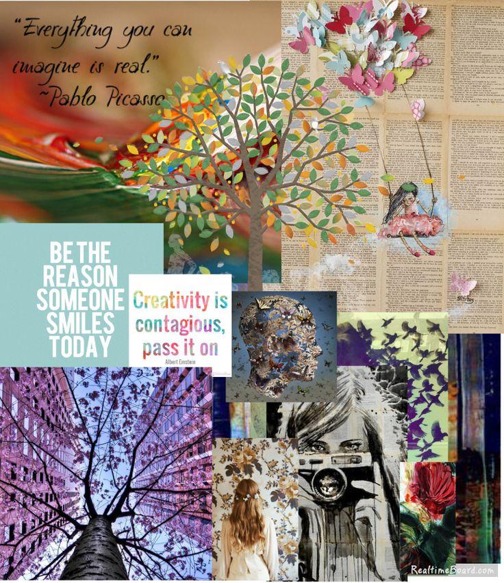Blog Boss Oct/Nov 2014 e-course, color season mood board by joey fielder