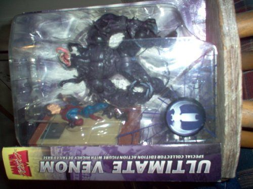 Marvel Select Ultimate Venom Special Collector Edition Action Figure with Highly Detailed Base ** Details can be found by clicking on the image.