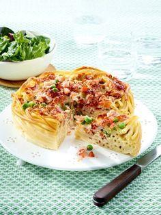 Von wegen Dickmacher! Unsere Pasta Rezepte tun der Seele und der Figur gut. Wir haben 19 kalorienarme Pasta Rezepte unter 400 kcal für Sie. Makaroni Torte
