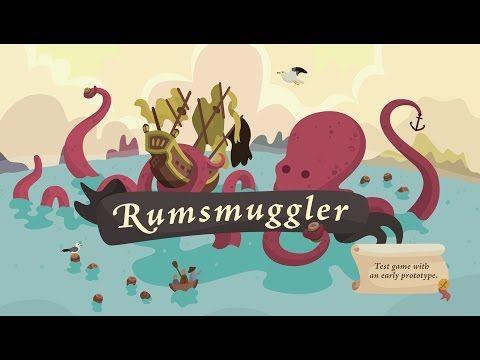 Rumsmuggler ☠ Board Game on Behance