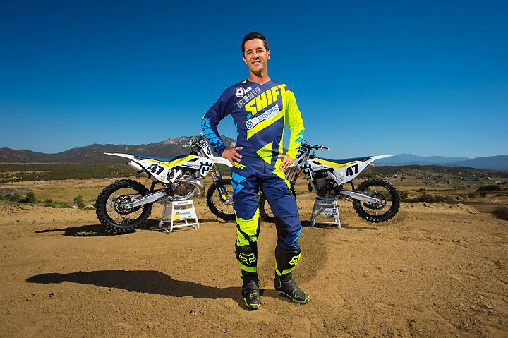 Former AMA National Motocross and Supercross champion Jeff Emig has taken on a new role as brand ambassador for Husqvarna Motorcycles. Emig won his titles with Kawasaki and Yamaha. PHOTOS BY SIMON CUDBY.