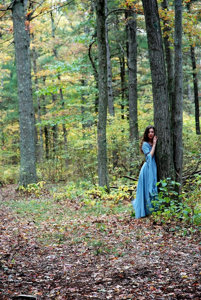 Medieval girl in the forest #medieval #fairytale #fantasy