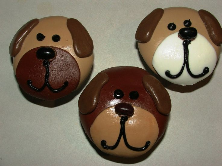 puppy dog cupcakes - Google Search