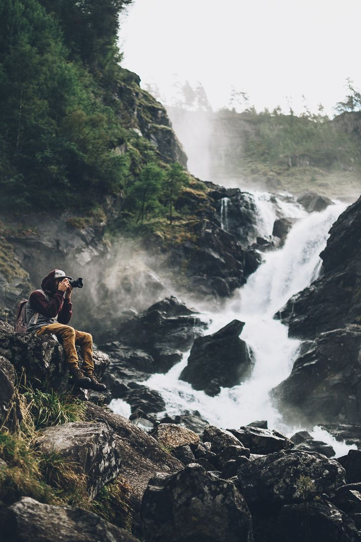 "woodfawn: ""upclosefromafar: ""eartheld: ""envyavenue: "" Låtefossen, Norway by Rob Sese. "" "" Nature n stuff "" x """