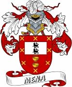 De Mena Spanish Coat Of Arms www.4crests.com #coatofarms #familycrest #familycrests #coatsofarms #heraldry #family #genealogy #familyreunion #names #history #medieval #codeofarms #familyshield #shield #crest #clan #badge #tattoo #crests #reunion #surname #genealogy #spain #spanish #shield #code #coat #of #arms