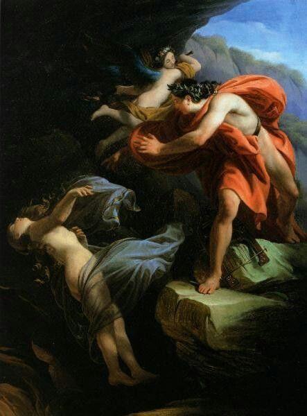 Orfeo e Euridice - Scuri, Enrico - ca. 1842