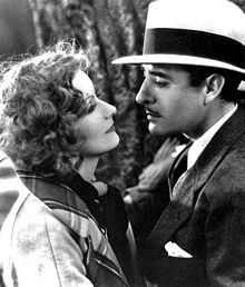 Greta Garbo with John Gilbert in A Woman of Affairs (1928) She was once designated the most beautiful woman who ever lived by the Guinness Book of World Records.