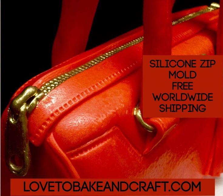 ZIP MOLD ZIPPER MOLD SILICONE ZIPPER MOLD HANDBAG CAKE ZIP FONDANT ZIP GUMPASTE ZIP ZIP MOULD GUMPASTE ZIPPER FONDANT ZIPPER flexible silicone for