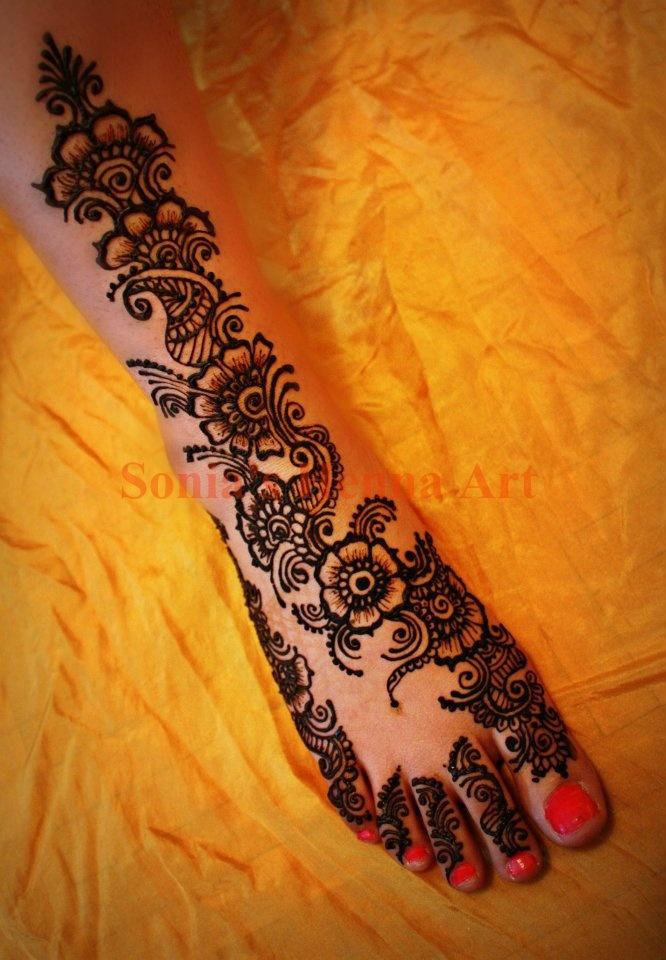 Diwali mehndi designs - Deepawali henna design