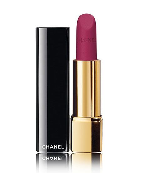 Chanel Rouge Allure Velvet Lipstick Review | If you're looking for the perfect matte lipstick, we found it. #refinery29 http://www.refinery29.com/chanel-rouge-allure-velvet-lipstick-review