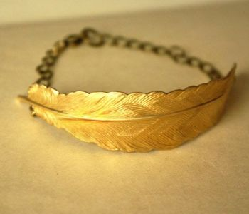Feather Fly Bracelet