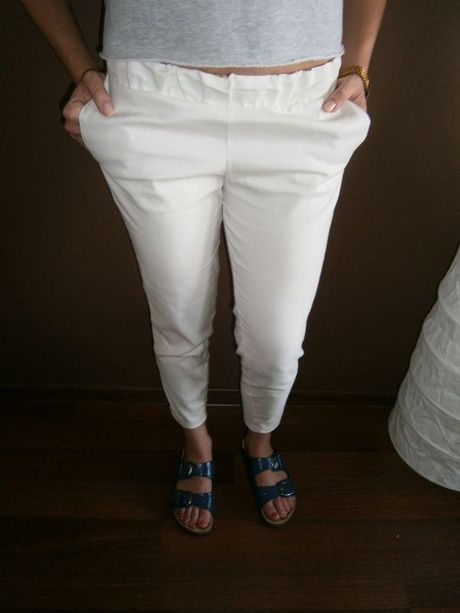 white pants 139 pln l 40 euro  #białe #spodnie #lato #swag #modapolska #polishdesigner #otwieramszafe #fashionblog