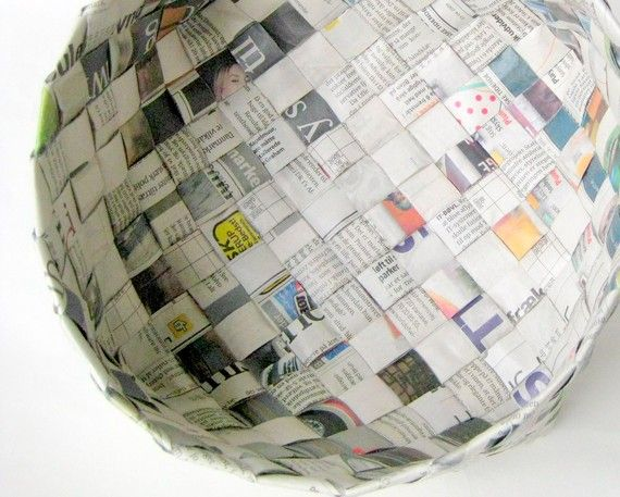 Basket Weaving Using Recycled Materials : Best images about fun baskets to weave on