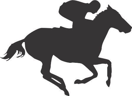 Силуэт лошади AR: