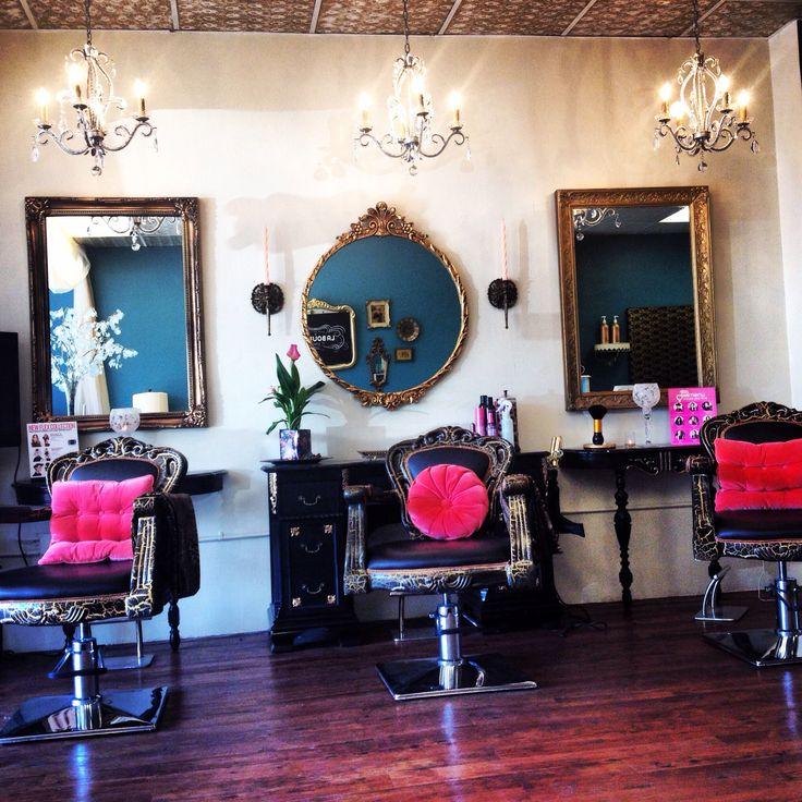 Diy salon station