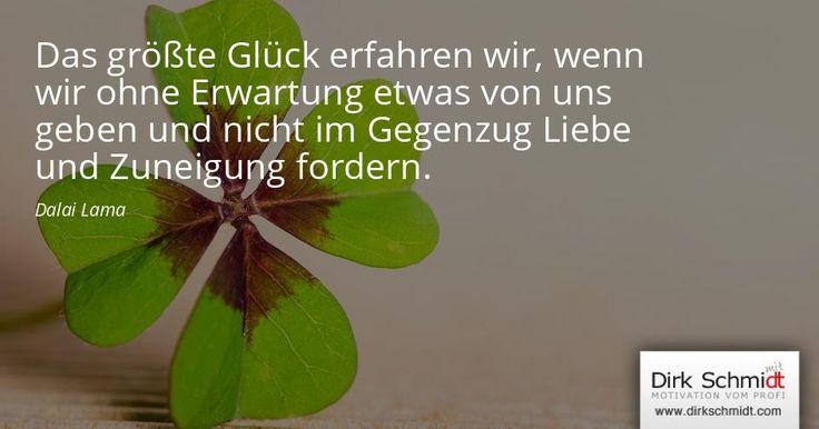 #zitat #glück #spruch #dirkschmidt #motivation