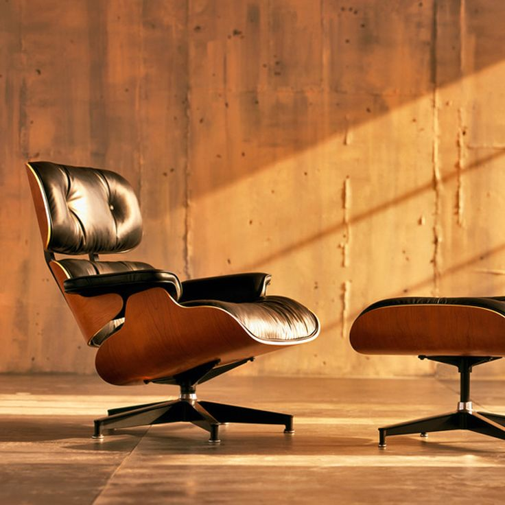 Herman Miller's Lounge Chair by Charles and Ray Eames