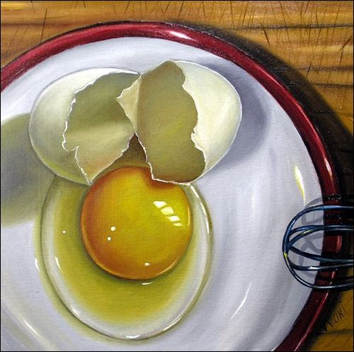 Cracked Egg by Vic Vicini