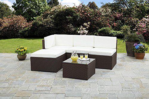 Rattan Corner Sofa Garden Furniture Sets | Pinterest