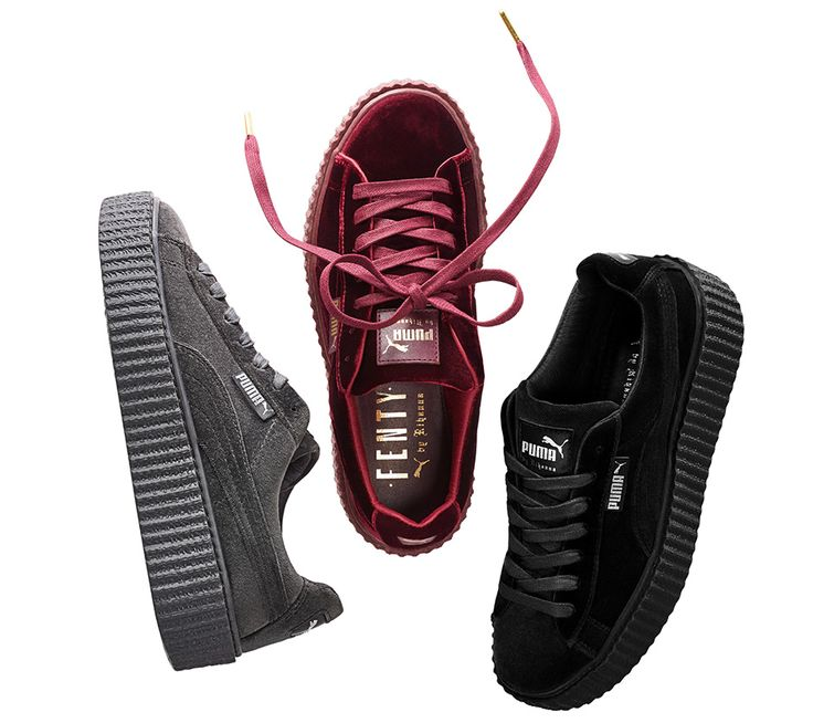 Just in time for the holidays, FENTY PUMA by Rihanna launches a new collection of The Creeper, this time in velvet. The Velvet Creeper is set to drop on December 8th featuring a soft velvet upper with tone-on-tone creeper soles, … Continue reading →