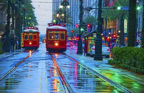 Rainy Day, New Orleans, Louisiana, posted via alexxandra81.tumblr.com