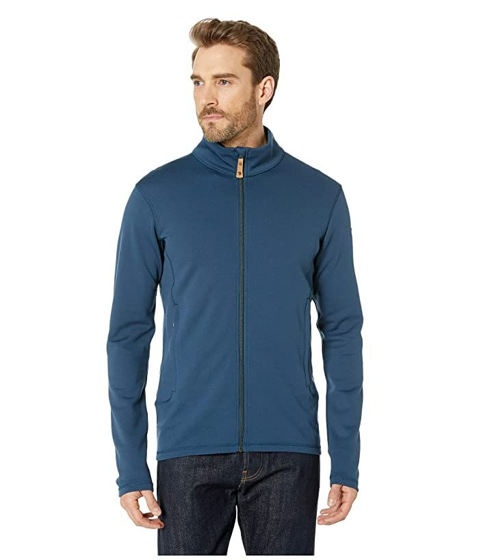 Fjallraven Keb Wool Sweater (Storm) Men's Sweater Find