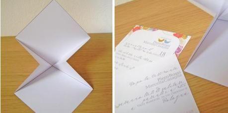 Tutorial: partecipazioni di matrimonio con chiusura stile origami