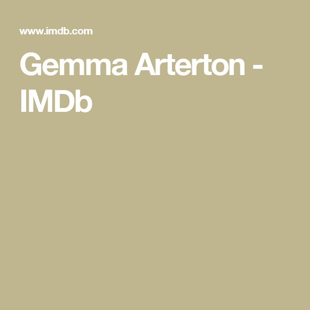 Gemma Arterton - IMDb