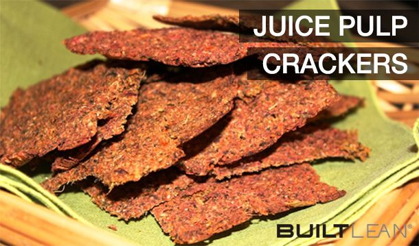 I bought a juicer but what to do with the pulp? Make Juice pulp crackers, of course! I will be trying this soon :)